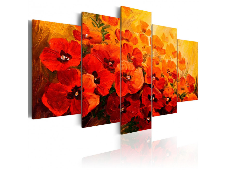 Tableau  Land of Poppies