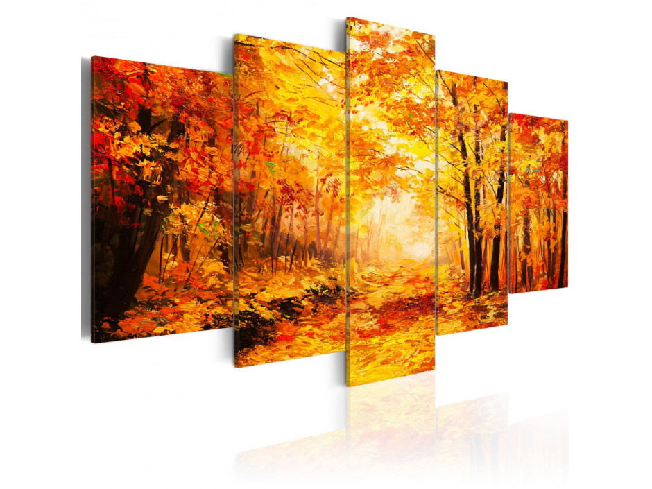Tableau - Autumn Alley