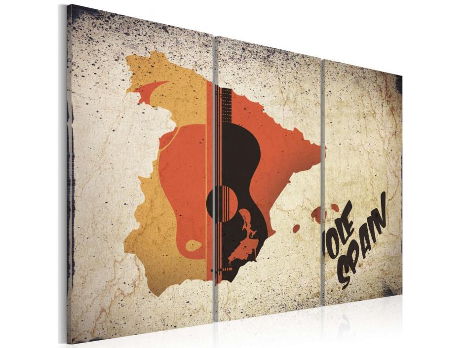 Tableau  ¡Olé! Spain  Triptych