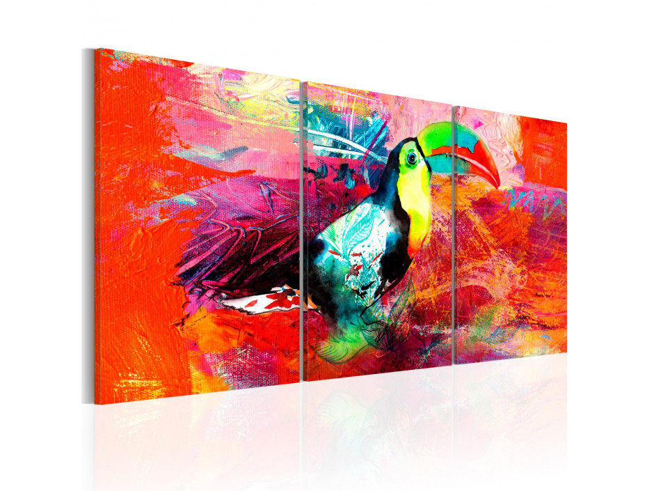 Tableau - Colourful Toucan