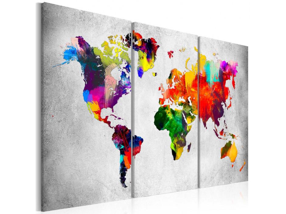 Tableau  Artistic World  Triptych