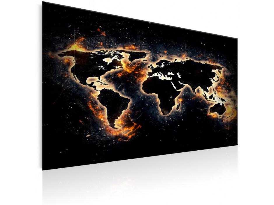 Tableau  Fiery World