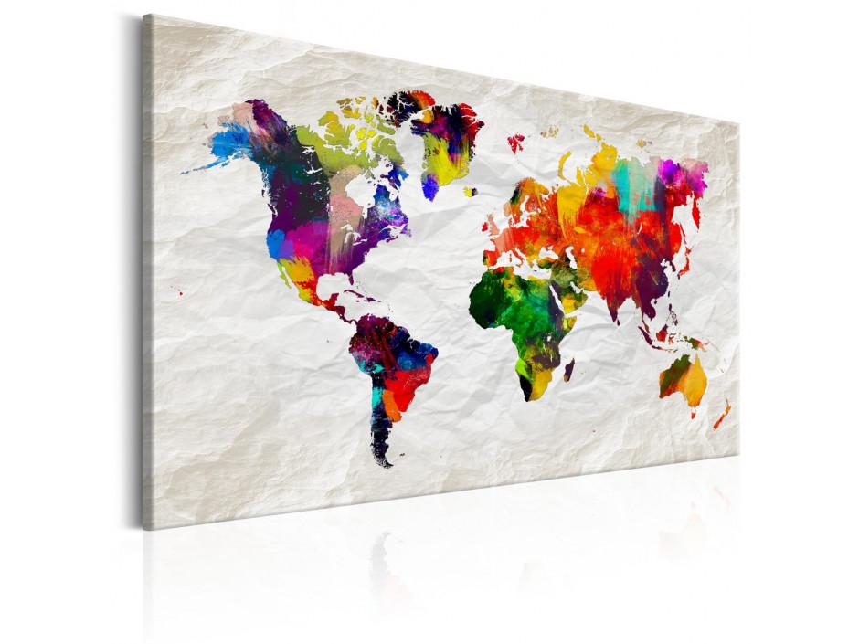 Tableau  World Map Rainbow Madness