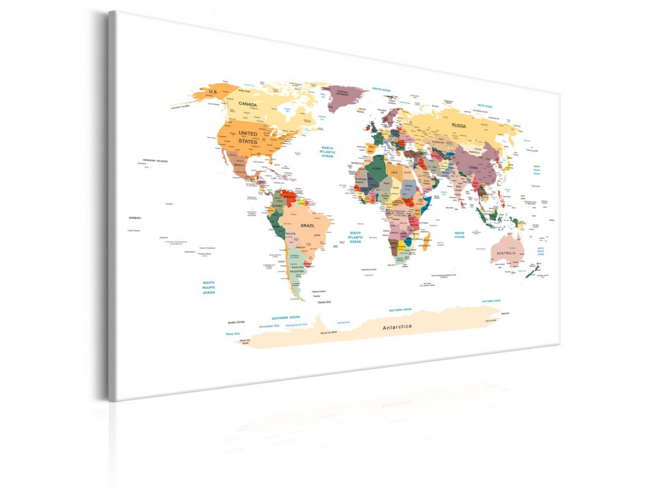 Tableau  World Map Travel Around the World