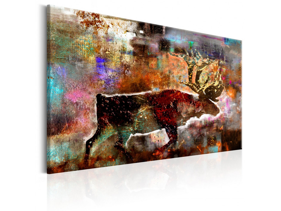 Tableau - Colourful Caribou