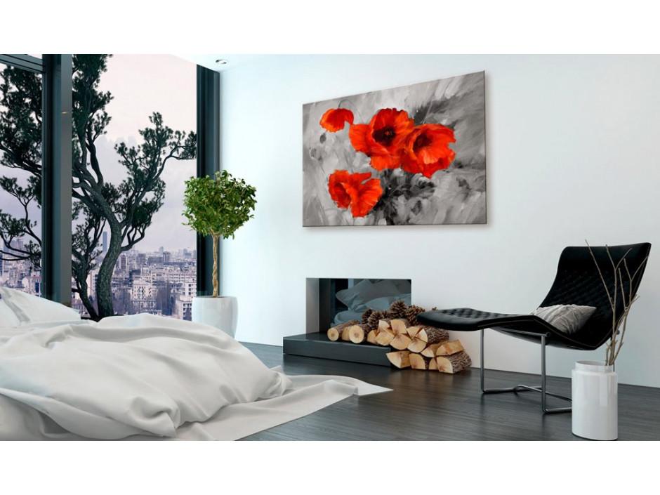 Tableau  Steel Poppies