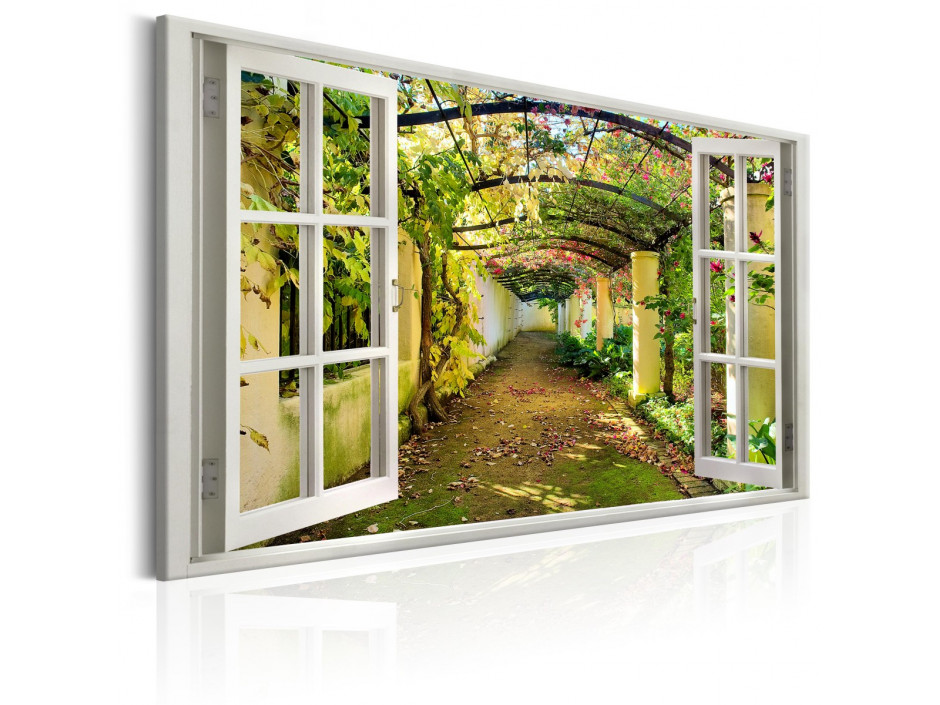 Tableau - Window: View on Pergola