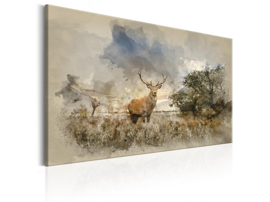 Tableau - Deer in Field