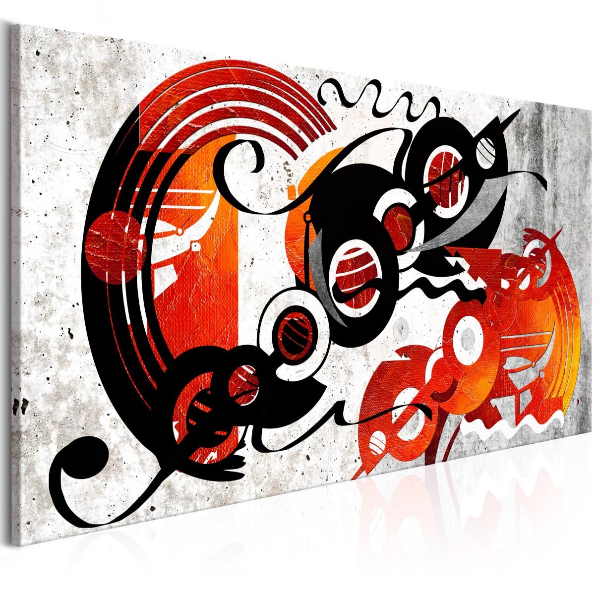 KunstLoft/® Tableau m/étallique 3D La derni/ère Danse 70x120x6cm Fait /à la Main