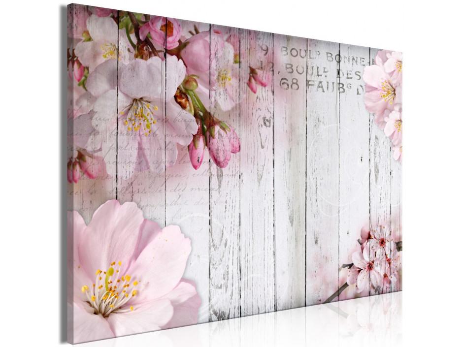 Tableau  Flowers on Boards (1 Part) Wide