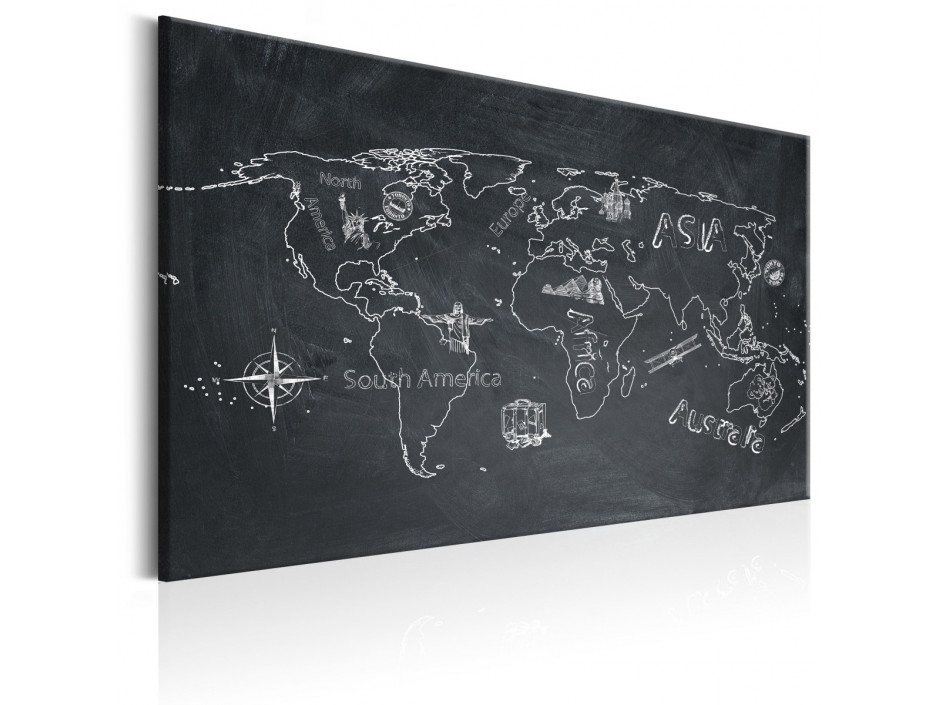 Tableau  World Map Travel broadens the Mind