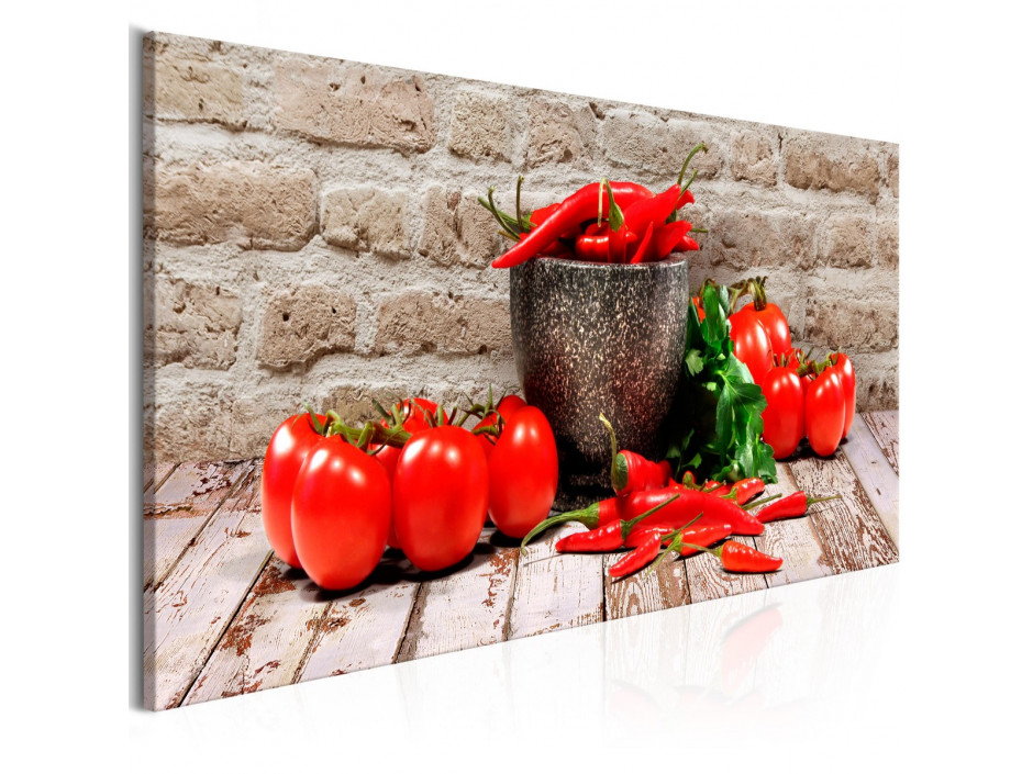 Tableau - Red Vegetables (1 Part) Brick Narrow