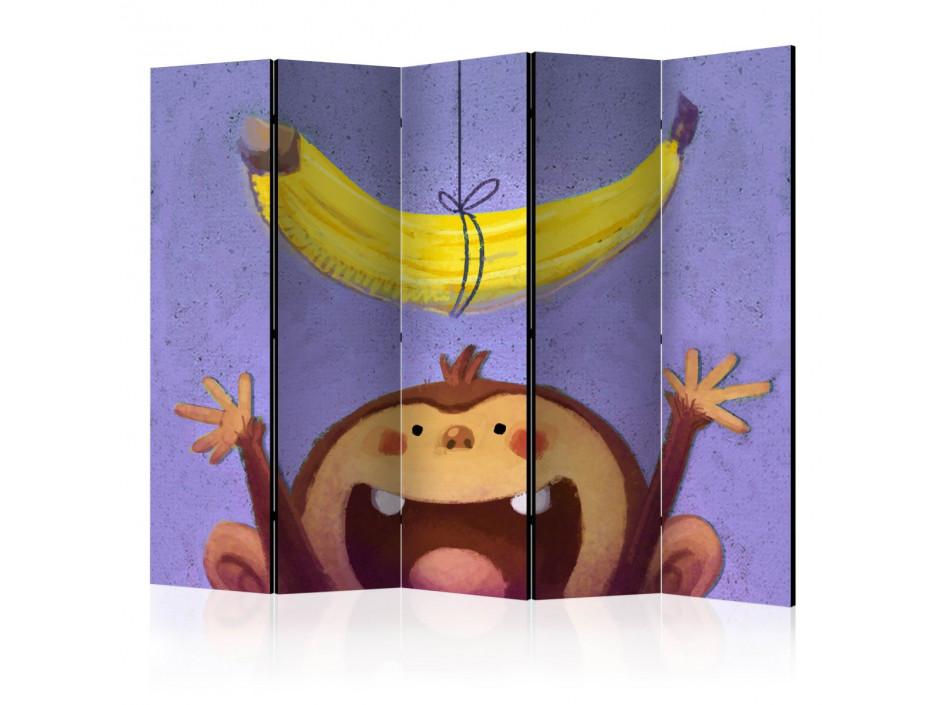Paravent 5 volets Bananana II [Room Dividers]