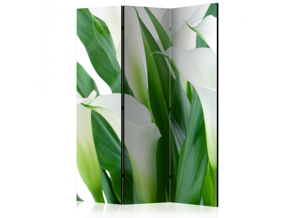 Paravent 3 volets  bunch of flowers  callas [Room Dividers]