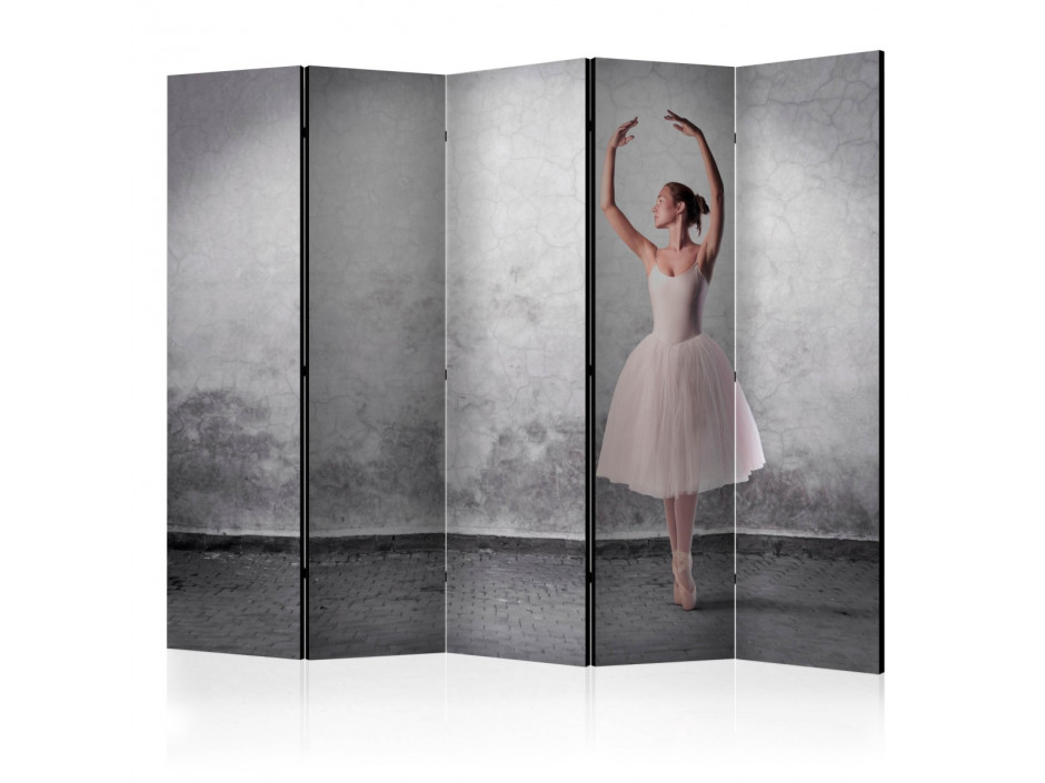 Paravent 5 volets  Ballerina in Degas paintings style [Room Dividers]