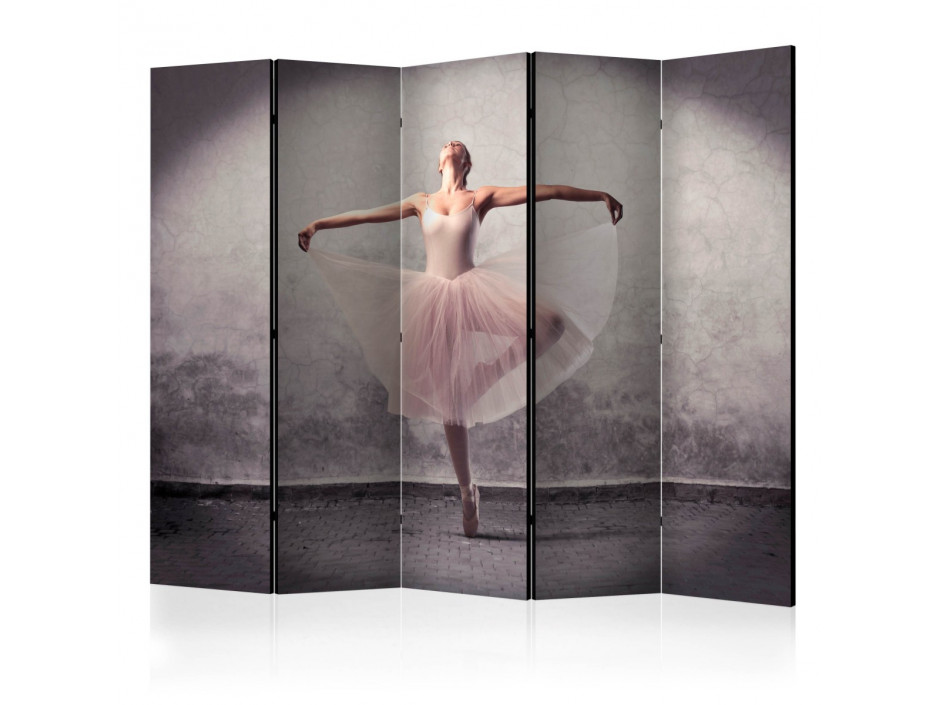Paravent 5 volets  Classical dance  poetry without words [Room Dividers]