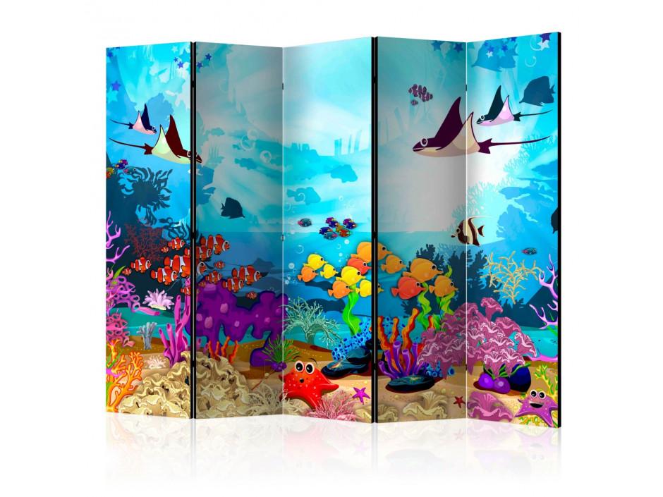 Paravent 5 volets  Underwater Fun [Room Dividers]