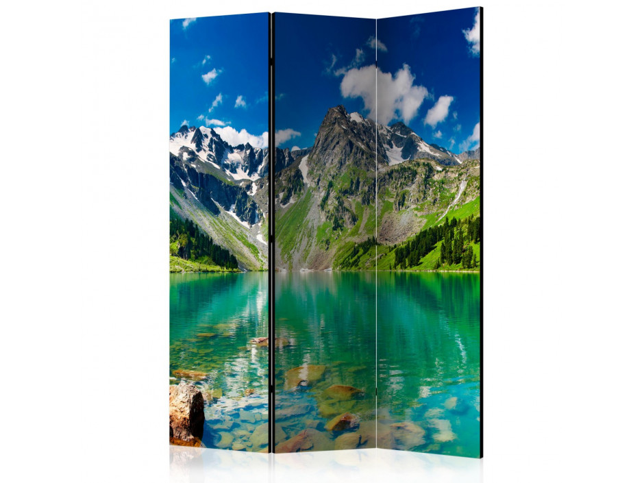 Paravent 3 volets  Mountain lake [Room Dividers]