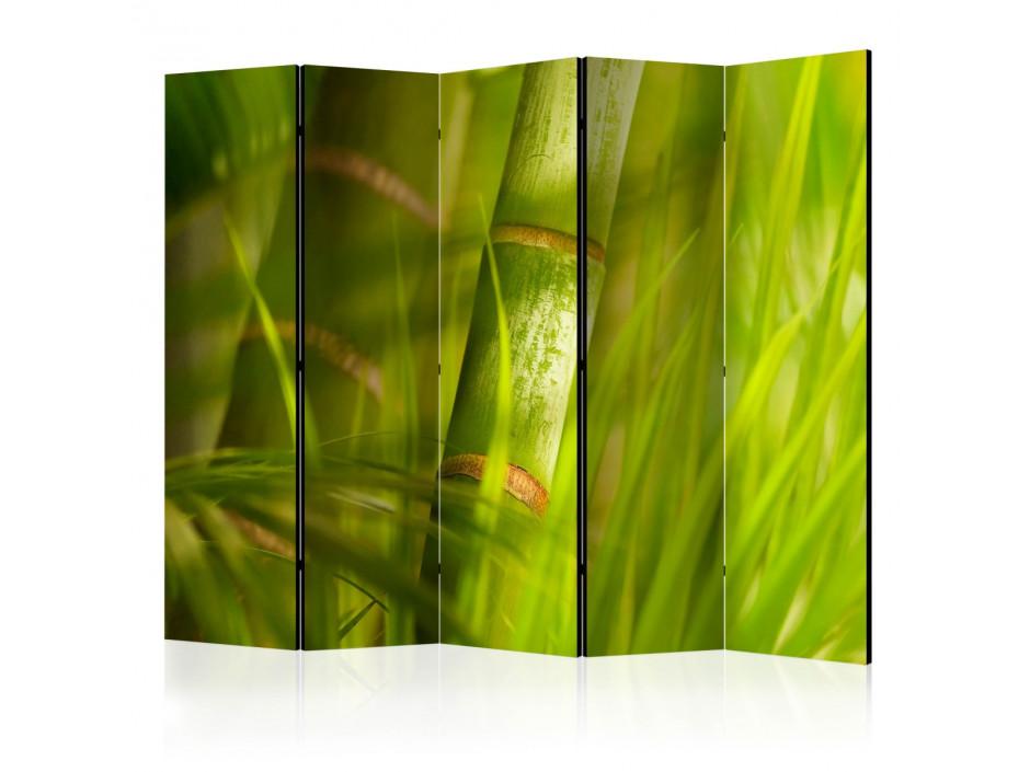 Paravent 5 volets  bamboo  nature zen [Room Dividers]