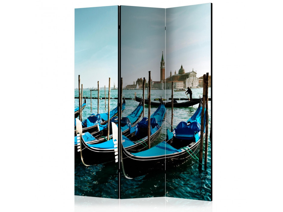 Paravent 3 volets  Gondolas on the Grand Canal, Venice [Room Dividers]