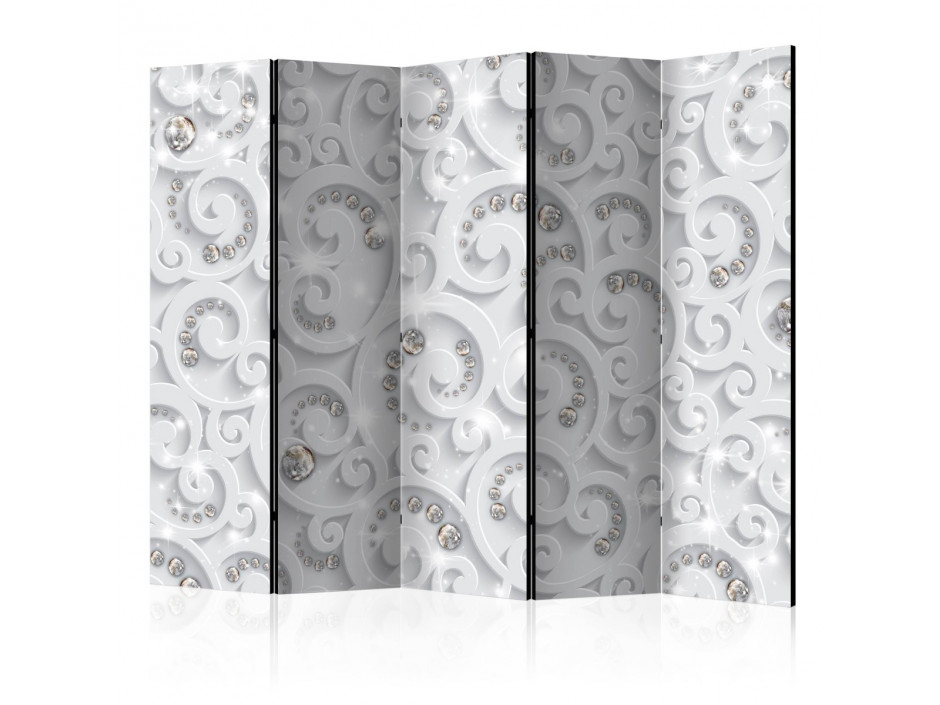 Paravent 5 volets  Abstract Glamor [Room Dividers]