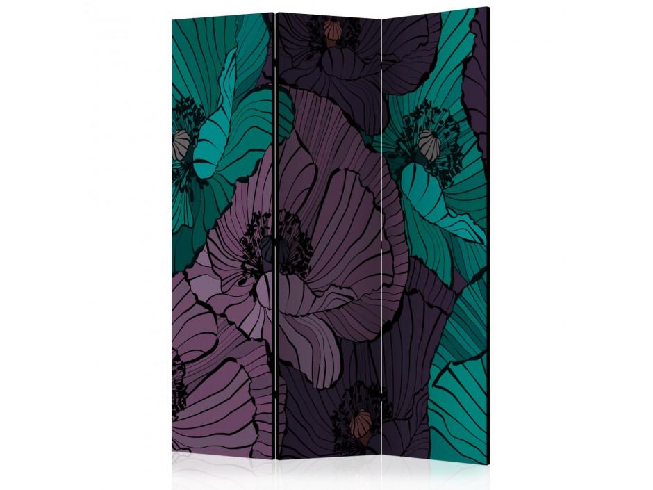 Paravent 3 volets  Flowerbed [Room Dividers]