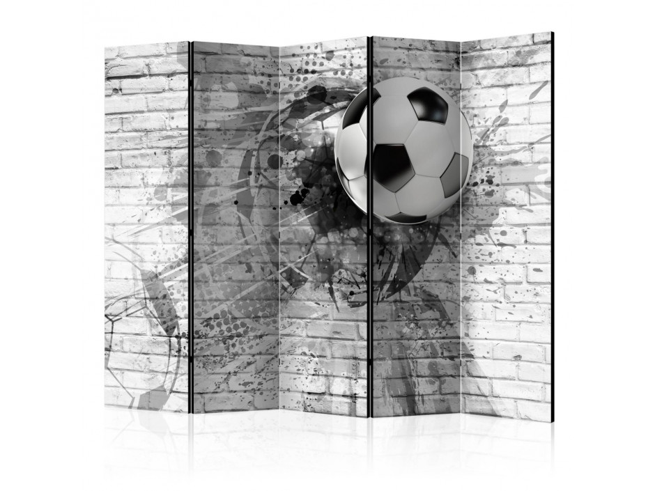 Paravent 5 volets  Dynamic Football [Room Dividers]
