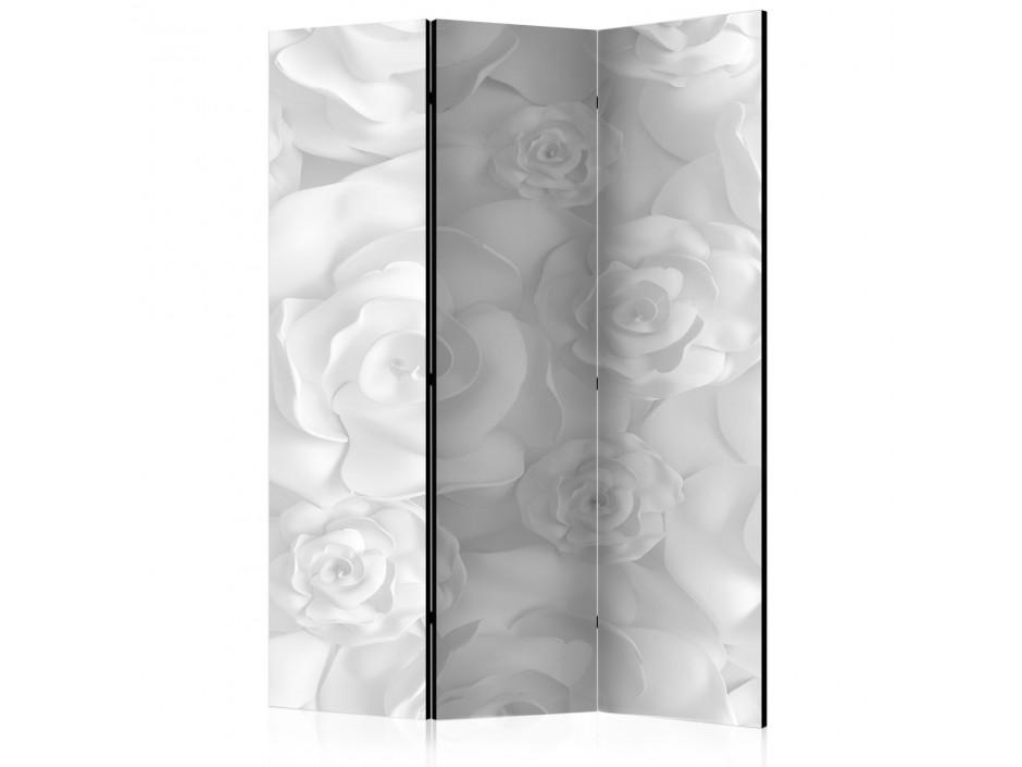 Paravent 3 volets  Plaster Flowers [Room Dividers]