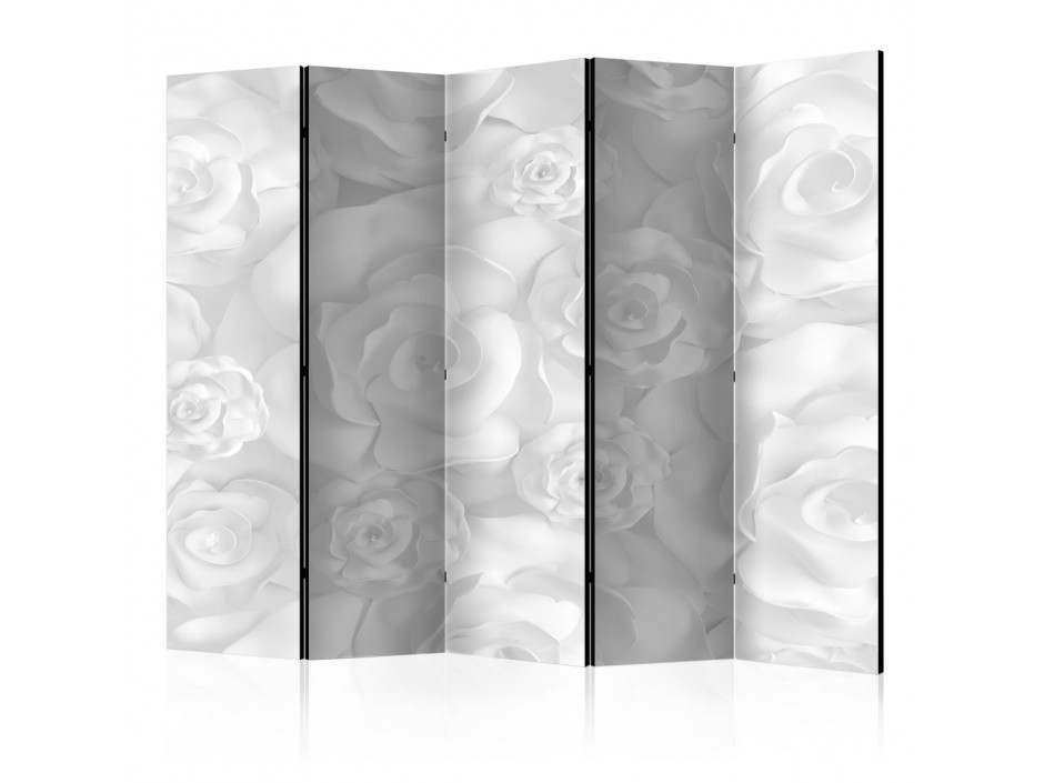 Paravent 5 volets  Plaster Flowers [Room Dividers]