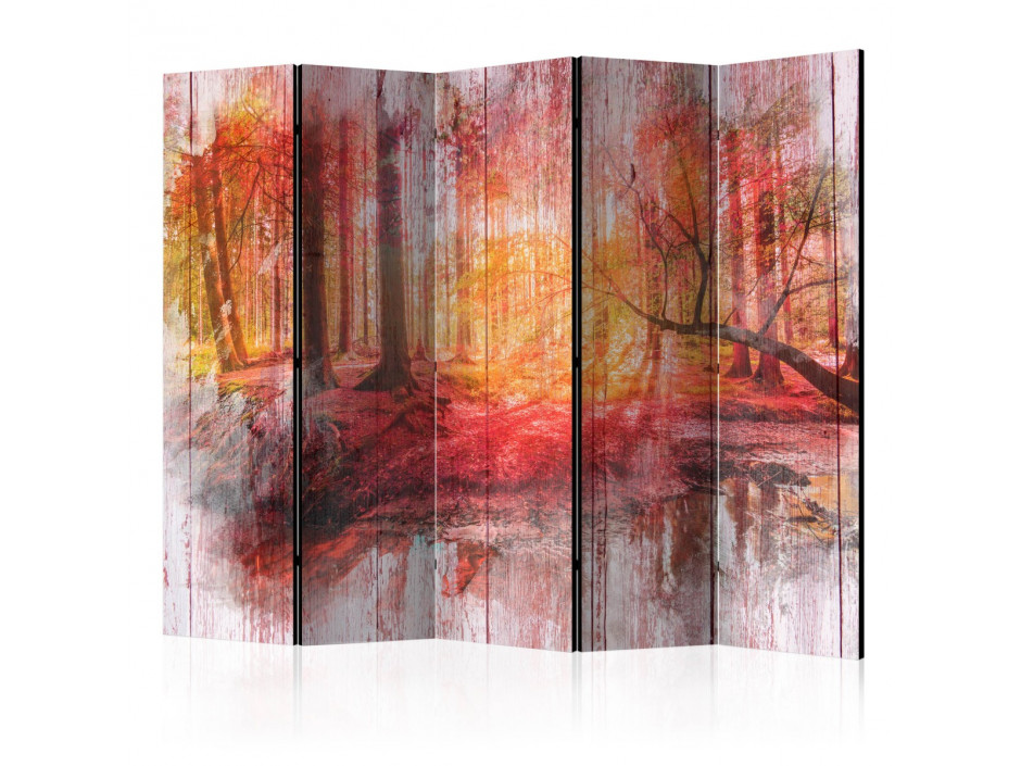 Paravent 5 volets  Autumnal Forest [Room Dividers]