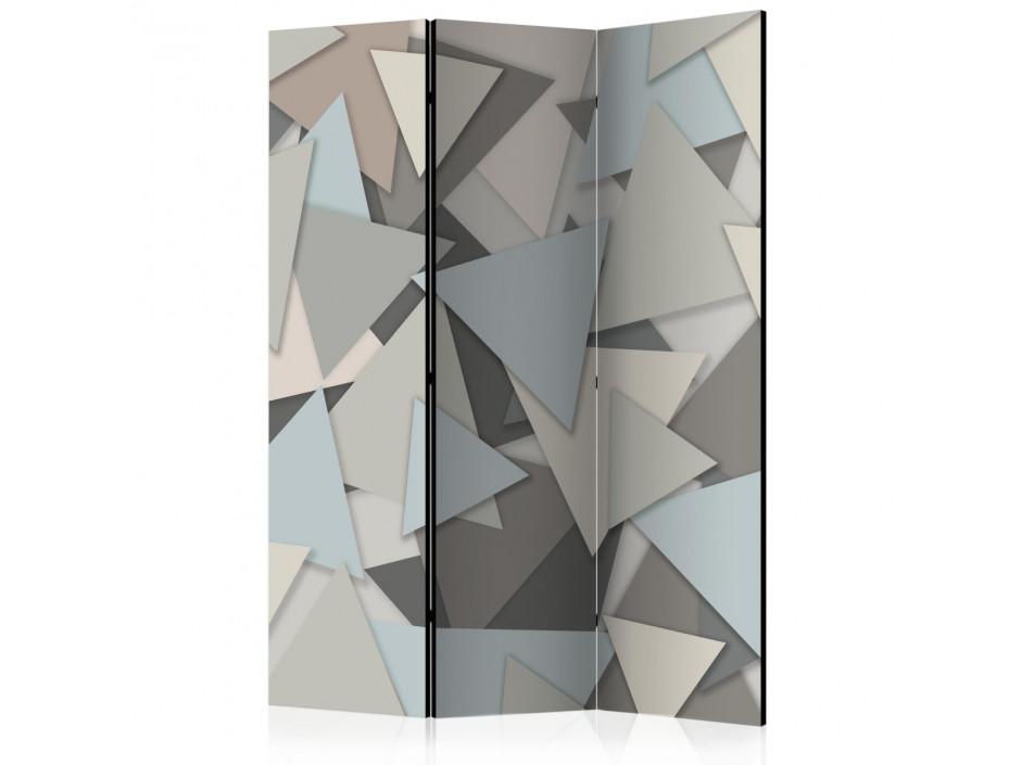 Paravent 3 volets  Geometric Puzzle [Room Dividers]