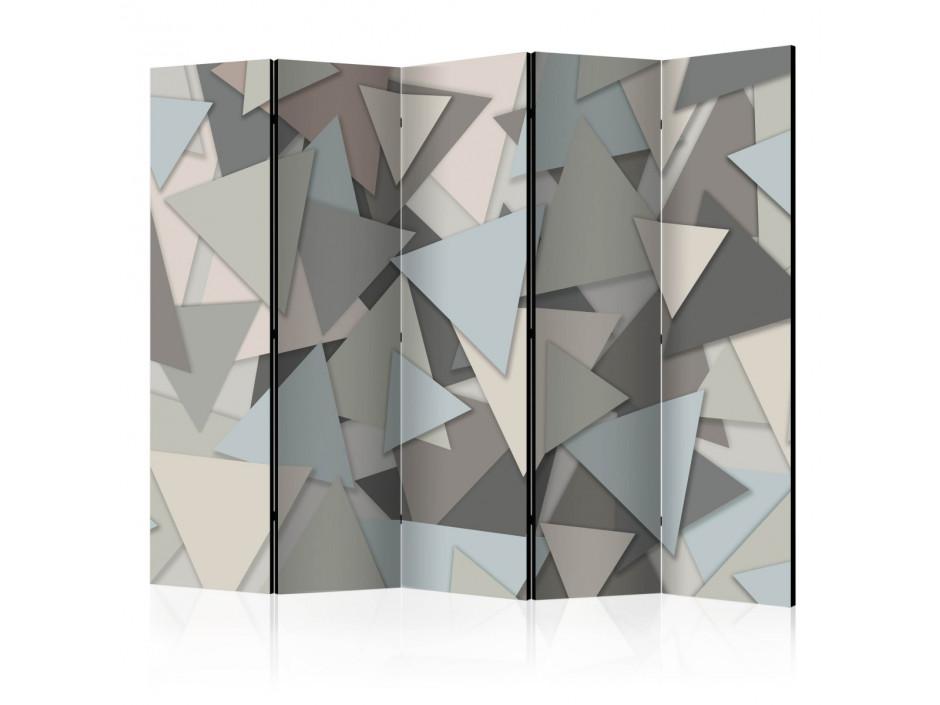 Paravent 5 volets  Geometric Puzzle [Room Dividers]