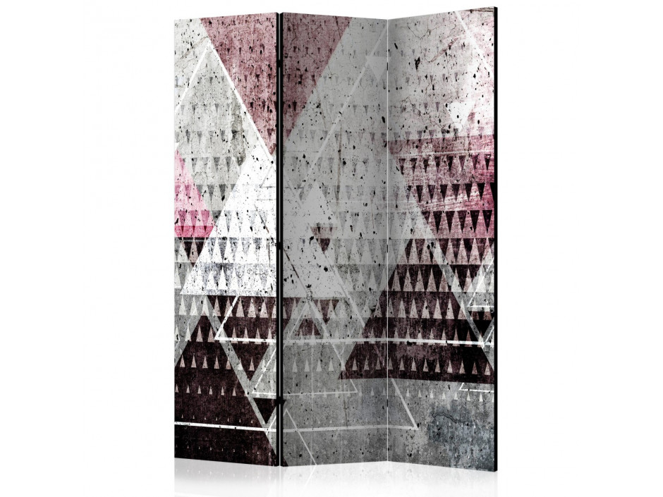 Paravent 3 volets  Triangles [Room Dividers]
