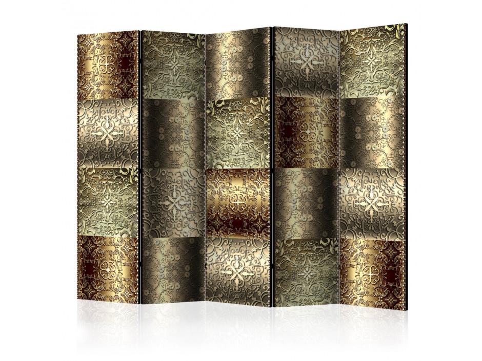 Paravent 5 volets  Metal Plates [Room Dividers]