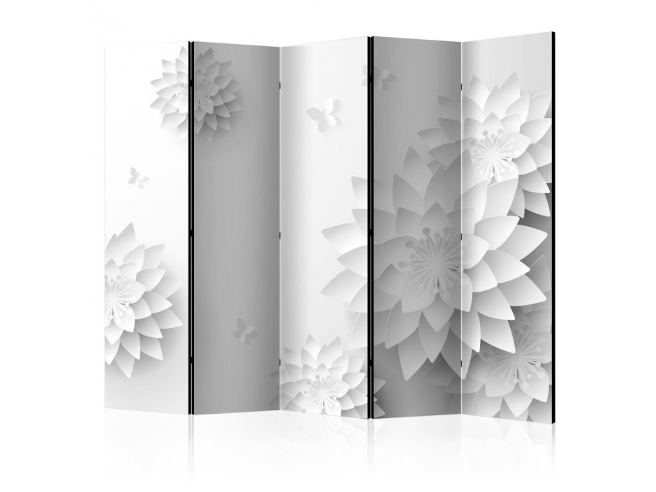 Paravent 5 volets  Oriental Flowers [Room Dividers]