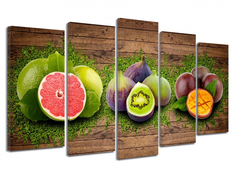 Tableau toile cuisine ASSORTIMENT DE FRUITS