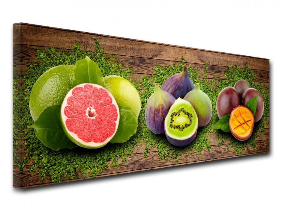 Tableau toile pour cuisine FRUITS VITAMINÉS