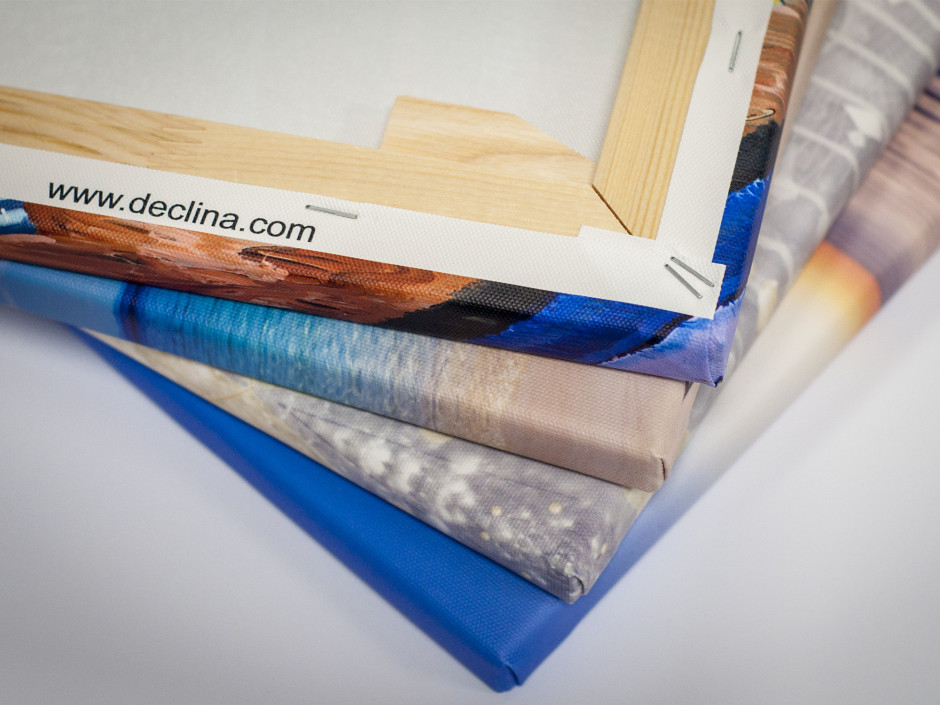 Tableau toile design COMPOSITION FLORALE