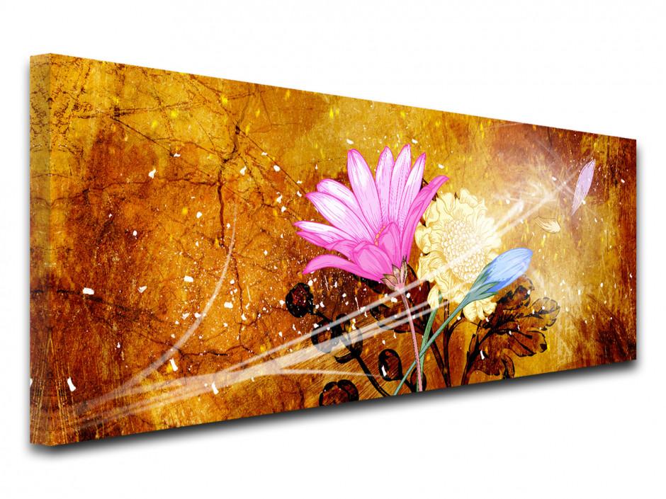 Tableau toile fleurs VENT DE FRAÎCHEUR