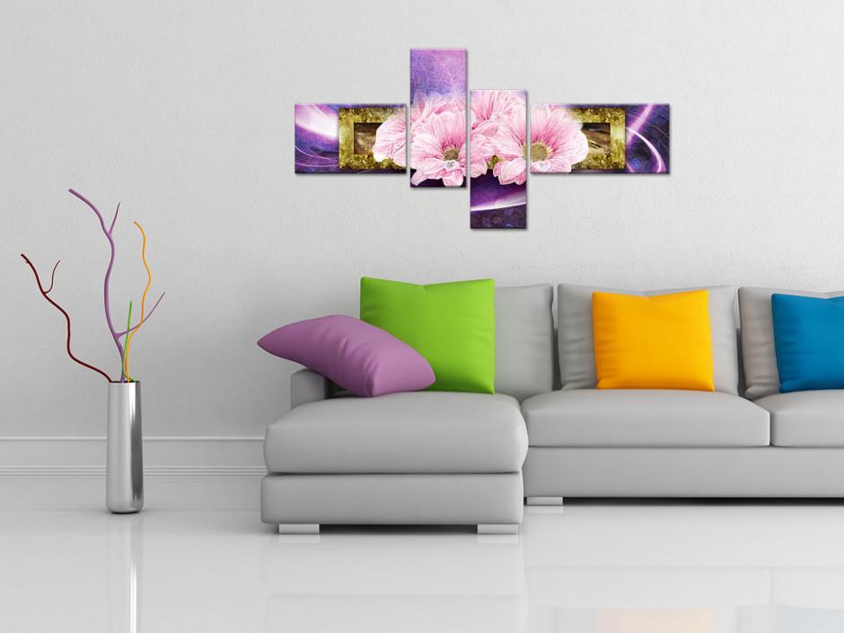 Tableau décorratif original Fleurs