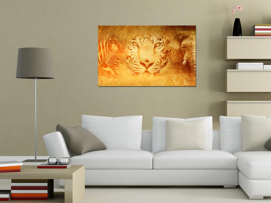 Tableau toile décorative ANIMAUX SAVANE