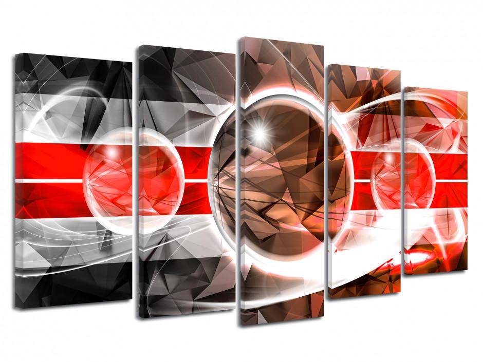Tableau toile abstrait design GÉOMÉTRIE