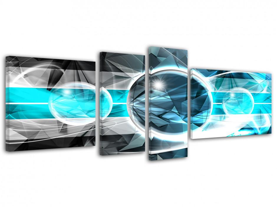 Tableau toile design abstrait UNIVERS
