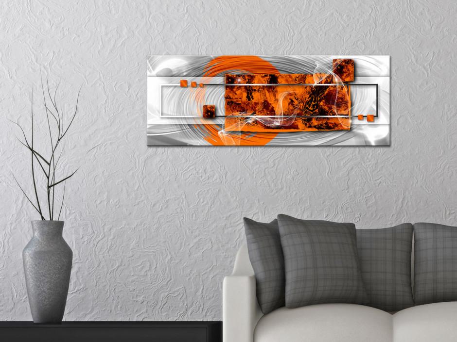 Tableau toile panoramique VOLUPTÉ
