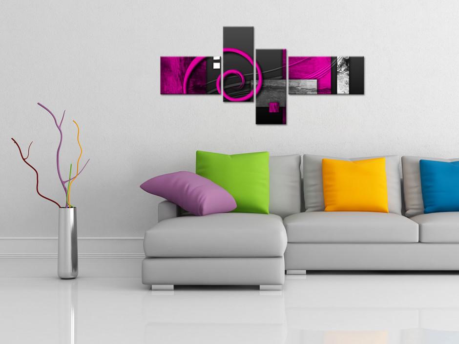 Tableau décoratif abstrait POLARIS