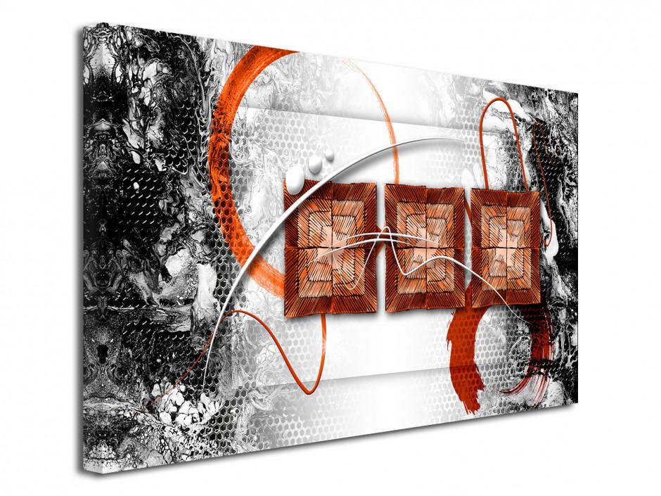 Tableau toile moderne déco abstraite ÉPOQUE