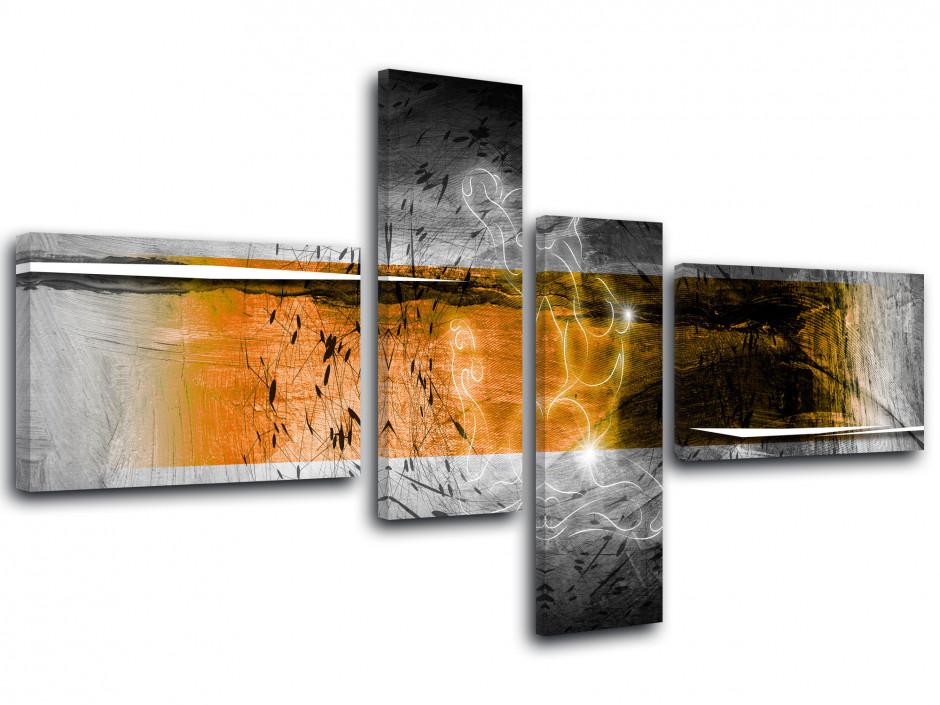 Tableau toile décoration abstraite NUDITÉ