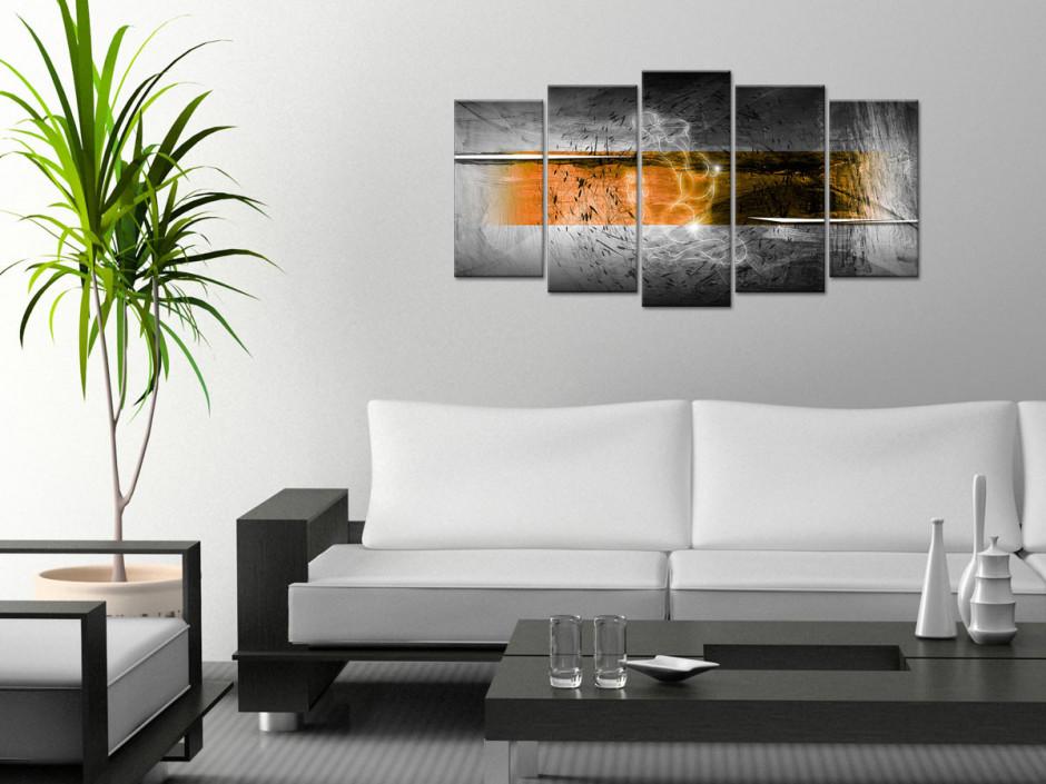 Tableau toile abstrait décoration ESQUISSE