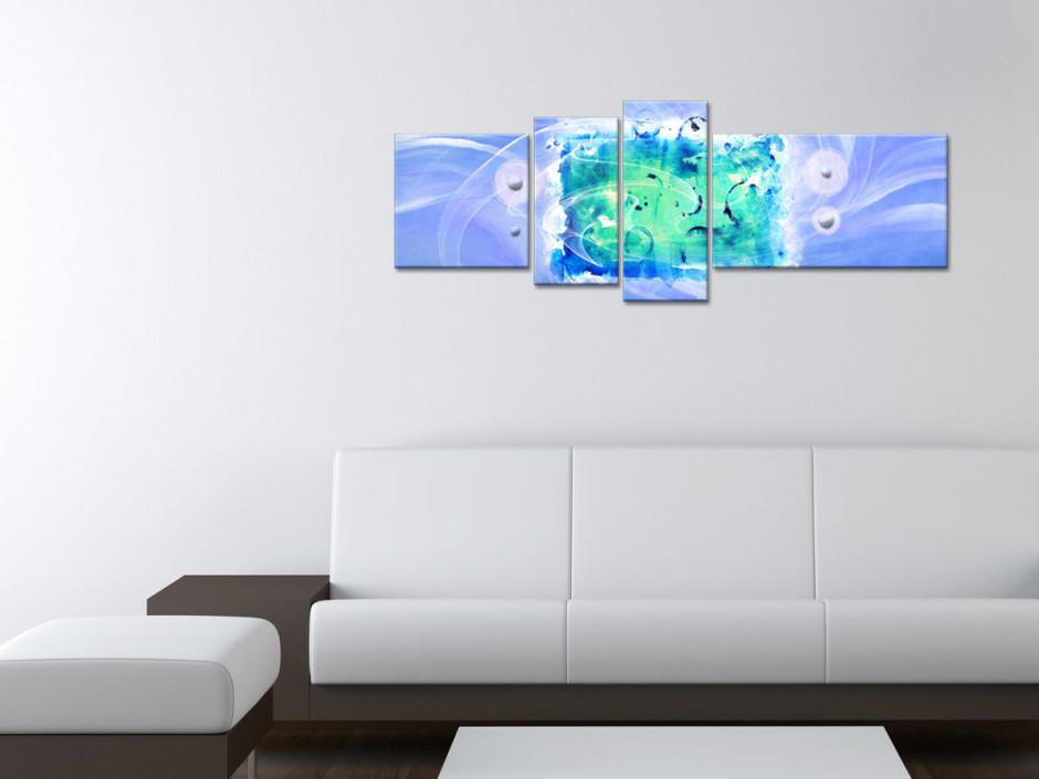 Tableau toile peinture abstraite LIBERTÉ