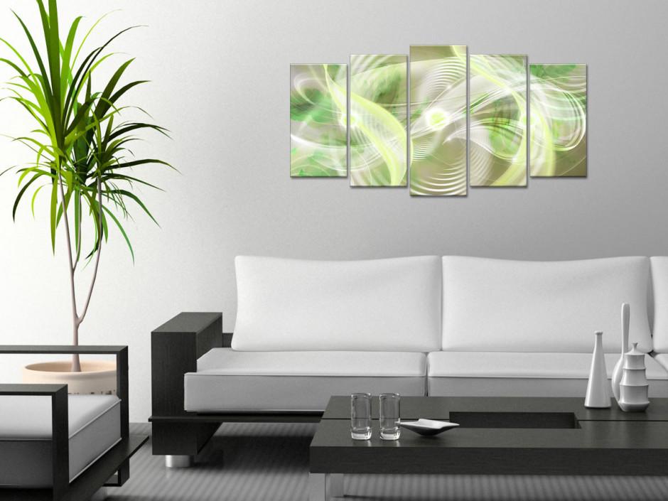 Tableau toile design déco abstraite HYPNOTIQUE